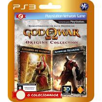 God Of War Origins (código Ps3)