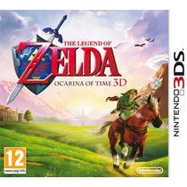 The Legend Of Zelda Ocarina Of Time 3d 3ds Lacrado Original