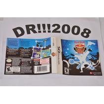 Encarte Red Bull Bc Onc Original P/ Nintendo Ds!!!