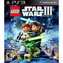 Lego Star Wars 3 The Clone Wars Jogo Ps3 Original Lacrado