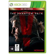 Jogo Metal Gear Solid V: Phantom Pain - X360