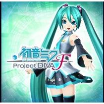 Hatsune Miku/ Project Diva F Jogos Ps3 Codigo Psn