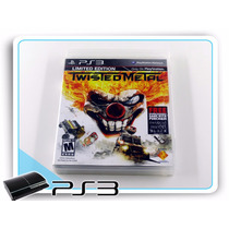 Ps3 Twisted Metal Limited Edition Original Playstation 3