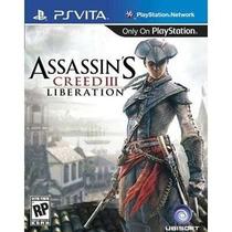 Assassins Creed Iii 3 Liberation Ps Vita Psvita - Lacrado !