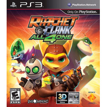 Jogo Ratchet And Clank All 4 One Para Ps3 /semi Novo/barato!