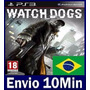 Watch Dogs Playstation 3 Ps3 Psn Mídia Digital