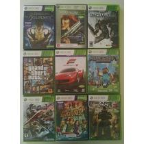 Jogos Xbox Semi Novos Pacote Com 9 Jogos - Gta 5 Minecraft