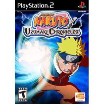 Naruto: Uzumaki Chronicles - Playstation 2 - Frete Gratis