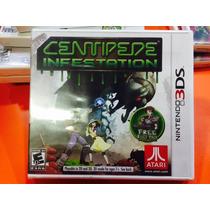 Jogo Centipede Infestation Nintendo 3ds, Novo, Lacrado