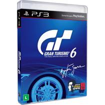 Gran Turismo 6 Ps3 Gt6 Português Brasil Dlc Exclusiva Senna