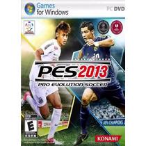 Jogo Novo Lacrado Pro Evolution Soccer 2013 Pes 2013 Para Pc