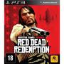 Red Dead Redemption Ps3 Mídia Física + Pôster + Mapa Play 3