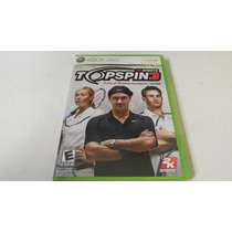 Tenis Top Spin 3 Xbox 360