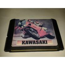 Jogo Kawasaki Corrida Motos Para Mega Drive Sega Genesis