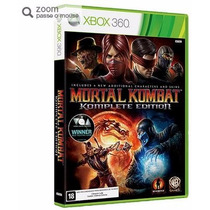 Game Mortal Kombat Komplete Edition - Xbox 360