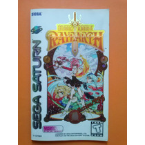 Magic Knight Rayearth Americano Sega Saturn Cd Original Raro