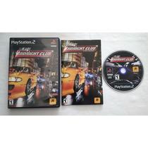 Midnight Club Street Racing Playstation 2 Original Ntsc