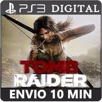 Tomb Raider 2013 Português Legendas Ps3 Psn Envio Imediato