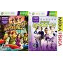 Jogo De X Box 360 Kinect Adventure + Kinect Sports Xbox360