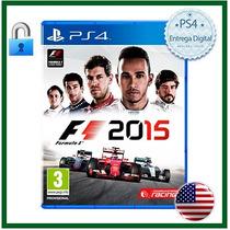 F1 2015 Formula 1 / Ps4 / Psn / C. Primária / Mídia Digital