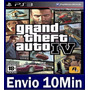 Grand Theft Auto 4 Iv Gta 4 Ps3 Código Psn