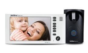 Video Porteiro Color Intelbras Iv7000 Tela Lcd Frete Grátis