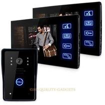 2 Em 1 Interfone 7 Color Monitor Câmara Wireless Video Doo