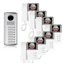 7 Em 1 Interfone Color Monitor Câmara