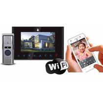 Video Porteiro Tela 7 E Pelo Celular 3g Wi-fi Android Ios