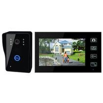 1 Interfone 7 Color Monitor Câmara 2.4g 7