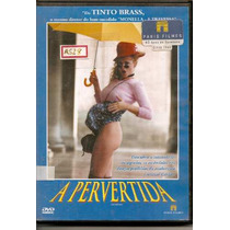 Dvd - A Pervertida - De Tinto Bras - Erótico - Dublado -raro