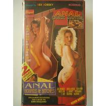 Filmes Pornôs Anos 80,90 E 2000 Em Vhs `anal Crack Master´
