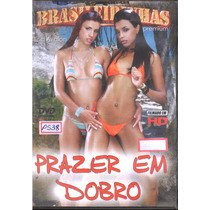 Dvd - P538 - Prazer Em Dobro - Brasileirinhas - Frete $ 6,00