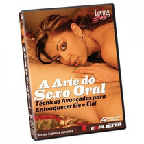 Dvd A Arte Do Sexo Oral - Loving Sex - Selo Explícita