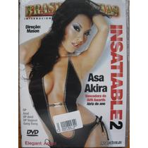 Dvd Insaciaveis 2 Brasileirinhas Asa Akira Frete Grátis
