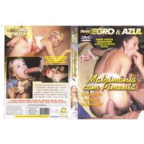 Dvd Negro & Azul Matrimônio Com Pimenta, Pornô, Original