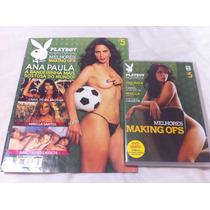Revista Playboy Especial Making Ofs 5 Ana Paula Mirela Carol