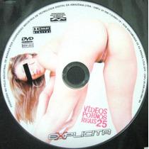 Vídeos Pornôs Reais 25 - Explícita ( Dvd Original )