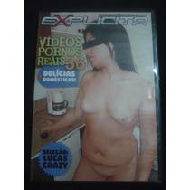 Dvd Explícita Vídeos Pornôs Reais 36