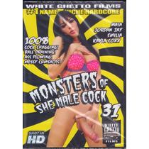 Dvd Monsters Of She Male Cock 31 Original Travesti Dotada