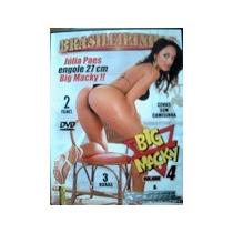 Dvd Big Macky 4 Julia Paes Brasileirinhas Frete Gratis