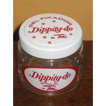 Brilhantina Dippity-do Frasco Brasileiro Anos 60 Farmacia