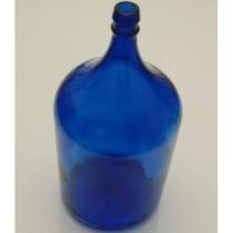 Garrafão De Vidro De 5 Litros Azul