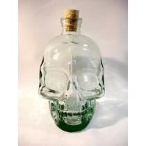 Garrafa Crânio Caveira Vodka Canadense Crystal Head Whisky