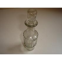 Antiguidade Lindo Perfumeiro Vidro Cristal Com Tampa