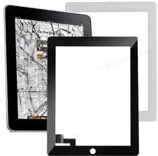 Vidro Tela Ipad 2 Ipad2 Touch Screen Preto E Branco Promoção