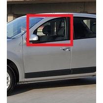 Vidro Porta Dianteira Esquerda Renault Sandero 2006 A 2016