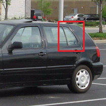 Vidro Porta Golf Traseira Esquerda Fixo Pequeno 1994 A 1998