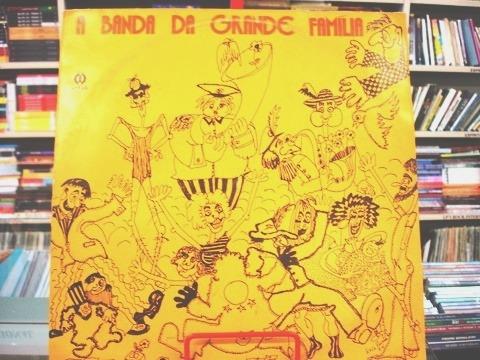 Vinil / Lp - Banda Patropi - A Banda Da Grande Família