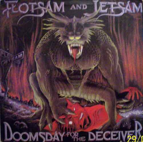 Vinil Lp Flotsam And Jetsam - Doomsday For The Deceive